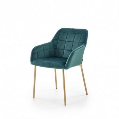 K306 krzesło złoty / ciemny...