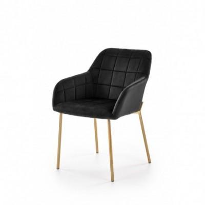 K306 krzesło złoty / czarny...