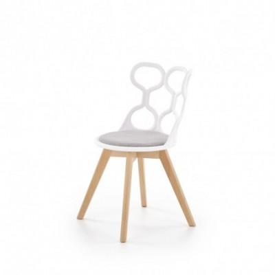 K308 krzesło biały / popiel...