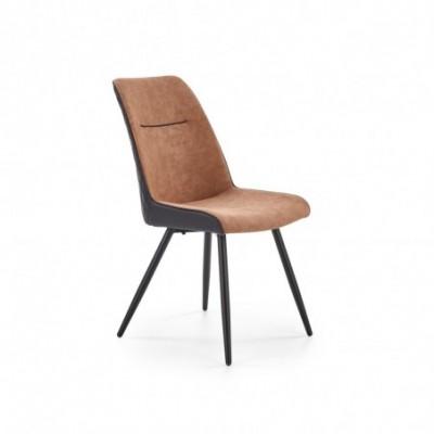 K323 krzesło brązowy /...