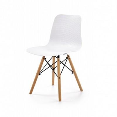 K325 krzesło PP biały, nogi...