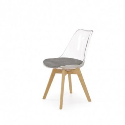 K342 krzesło popielaty /...