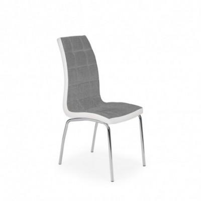 K347 krzesło popiel / biały...