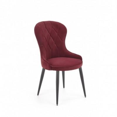 K366 krzesło bordowy (1p_2szt)