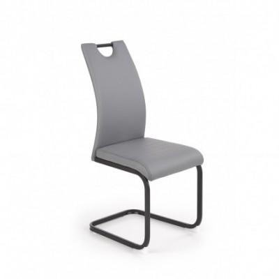K371 krzesło popielaty...