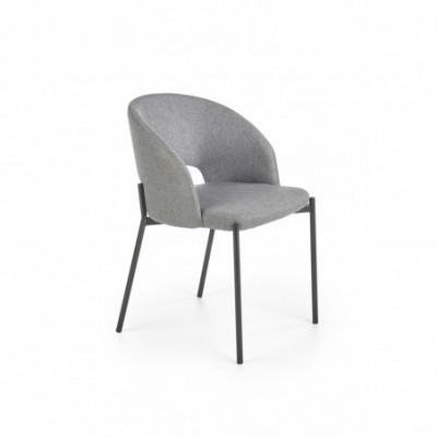 K373 krzesło popielaty...