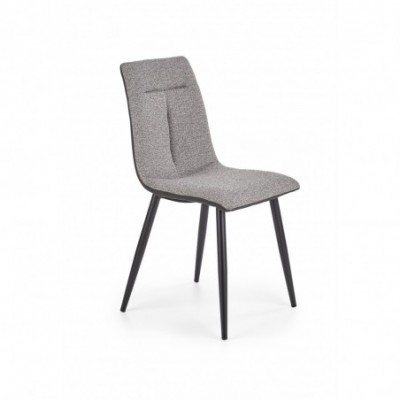 K374 krzesło popielaty...