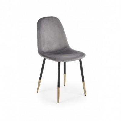 K379 krzesło popielaty...