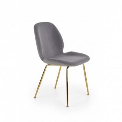 K381 krzesło popielaty /...