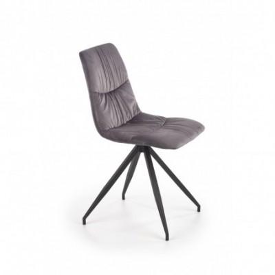 K382 krzesło popielaty...