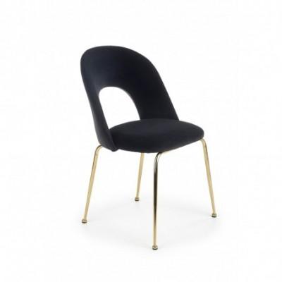 K385 krzesło czarny / złoty...