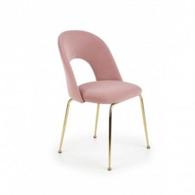 K385 krzesło jasny różowy /...