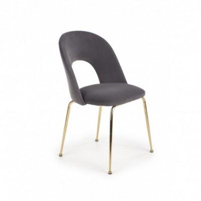 K385 krzesło popielaty /...