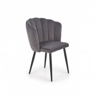 K386 krzesło popielaty...
