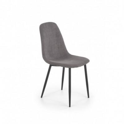 K387 krzesło popielaty...