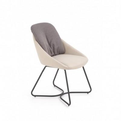 K391 krzesło ciemny popiel...
