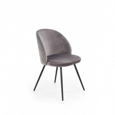 K395 krzesło popielaty...