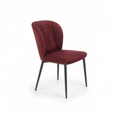 K399 krzesło bordowy (1p_2szt)