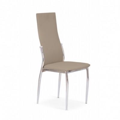K3 krzesło chrom/cappuccino...