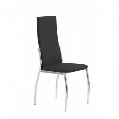 K3 krzesło chrom/czarny...