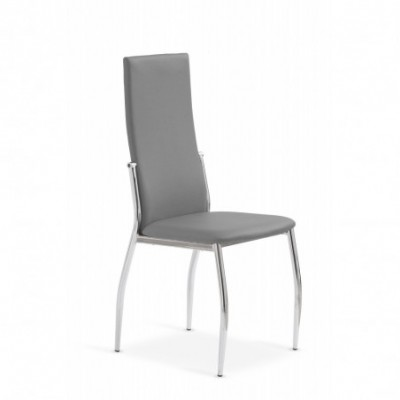 K3 krzesło chrom/popiel...