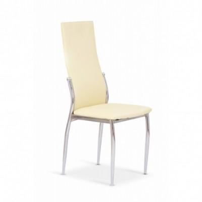 K3 krzesło chrom/waniliowy...