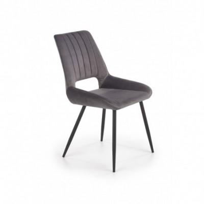 K404 krzesło popielaty...
