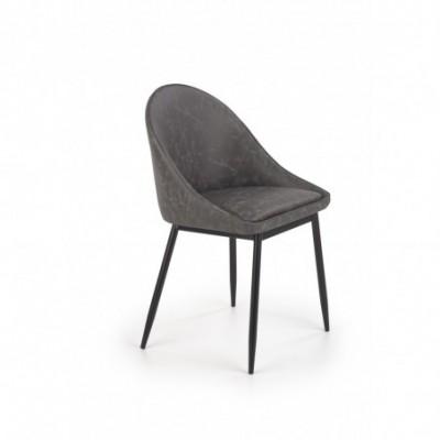 K406 krzesło ciemny...