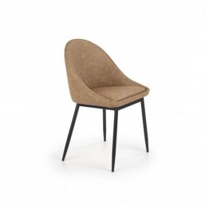 K406 krzesło jasny brązowy...