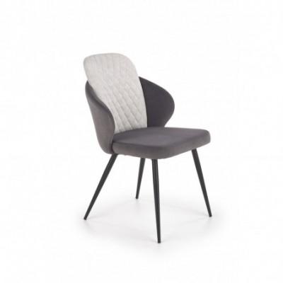 K408 krzesło jasny popiel /...