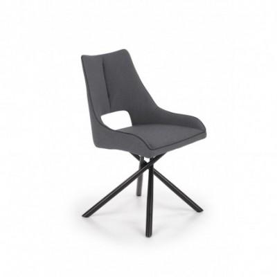 K409 krzesło popielaty...