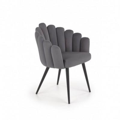 K410 krzesło popielaty...