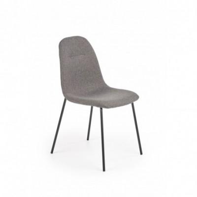 K413 krzesło popielaty...