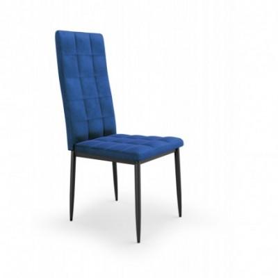 K415 krzesło granatowy...