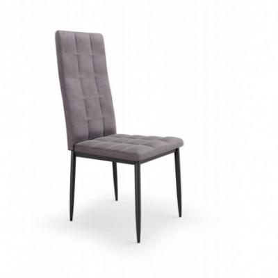 K415 krzesło popielaty...