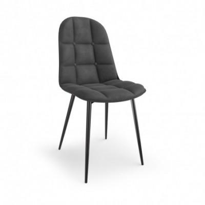 K417 krzesło popielaty...
