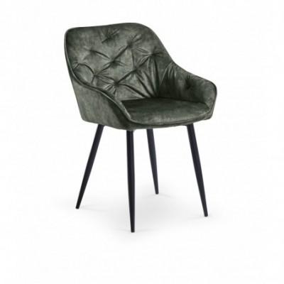K418 krzesło ciemny zielony...