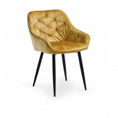 K418 krzesło musztardowy...
