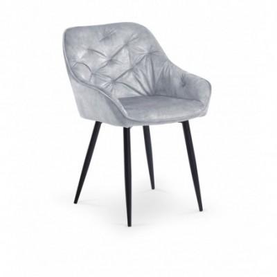 K418 krzesło popielaty...
