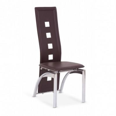 K4 krzesło ciemny brąz...