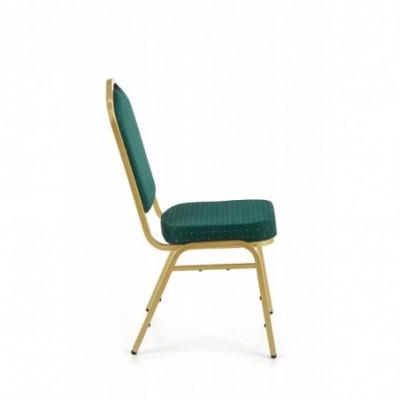 K66 krzesło zielony, stelaż...