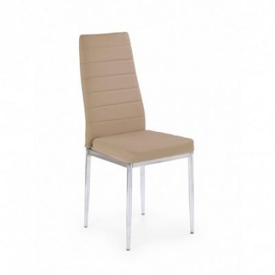 K70C new krzesło ciemny beż...