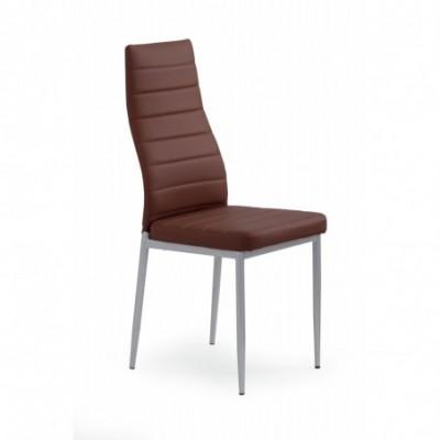 K70 krzesło ciemny brąz...
