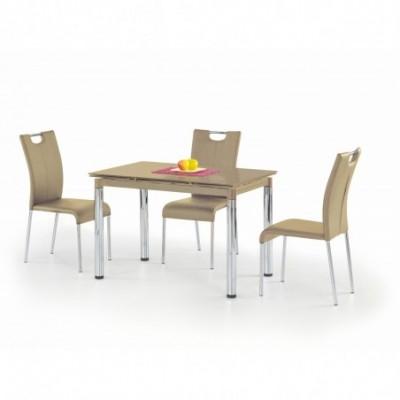 L31 stół rozkładany beżowy...