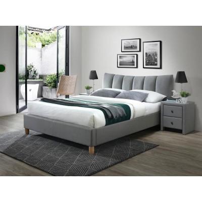 Łóżko SANDY 2 tapicerowane...