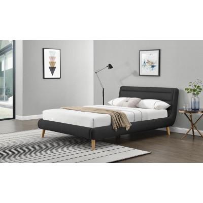 Łóżko ELANDA 160 cm ciemny...