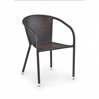 MIDAS krzesło ciemny brąz...