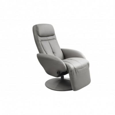 OPTIMA recliner popielaty