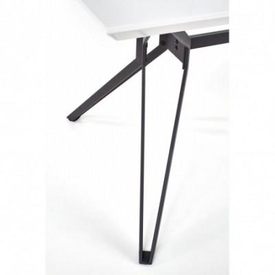 PASCAL stół biało - czarny...