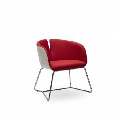 PIVOT fotel czerwony